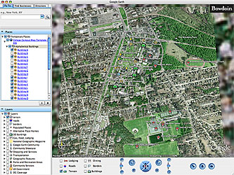 Google Earth Campus Map Template