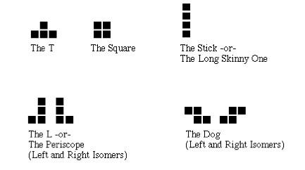 Csci 210 Lab: Tetris I
