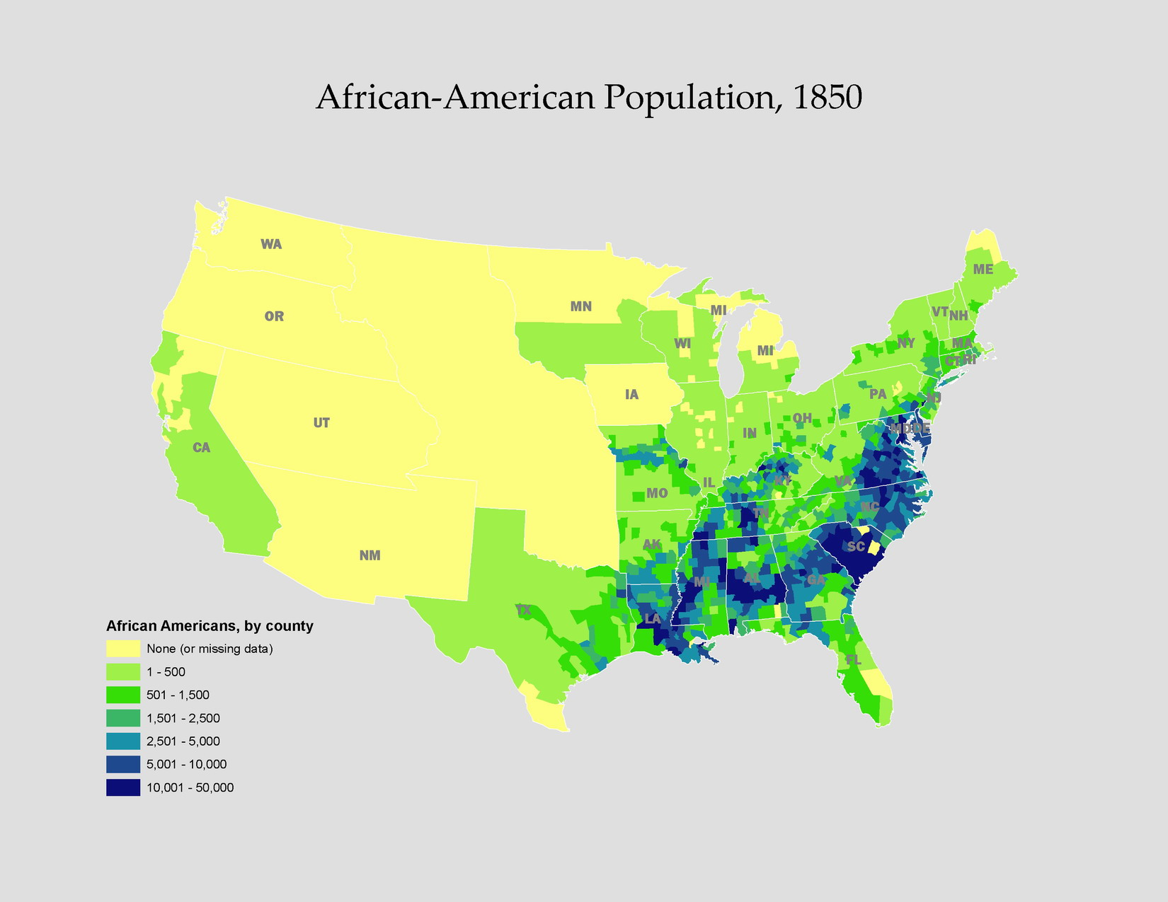 Black Activism In The Antebellum North - Map of united states during reconstruction